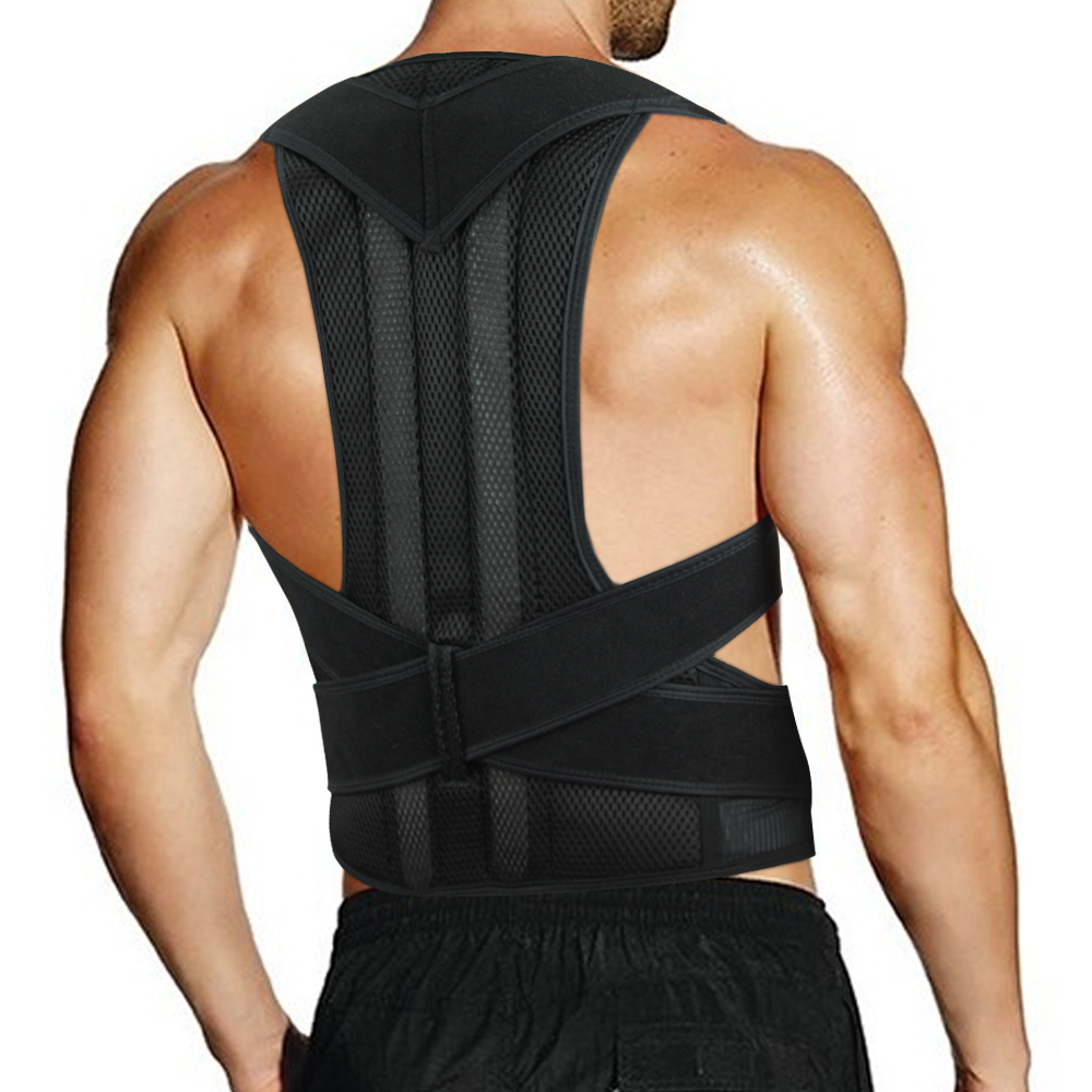 Back Posture Corrector Adult Back Support Shoulder Lumbar Brace Health Care Support Corset Back Belt