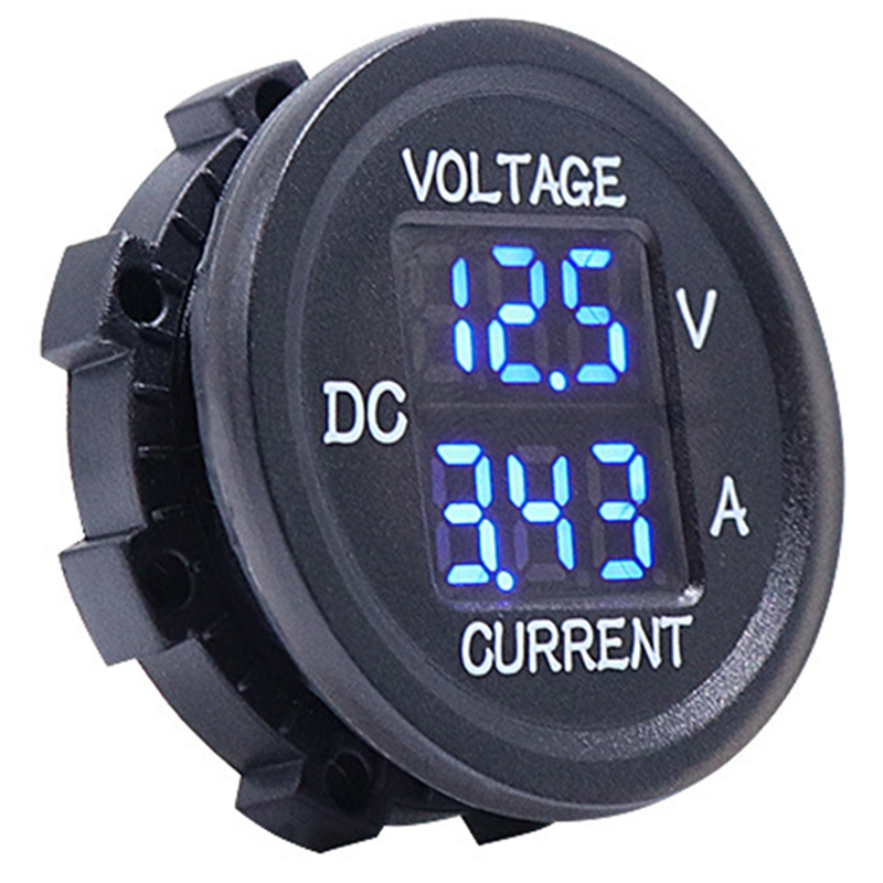 amperímetro tensão medidor de corrente display led