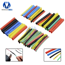 530PCS Car Electrical Cable Tube kits Heat Shrink Tube Tubing Wrap Sleeve Assorted 8 Sizes Mixed Color Diy Electronic