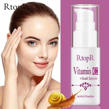 RtopR Caracol, ácido hialurónico VC Serum facial antiedad blanqueador humectante afirmante brillo...