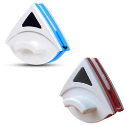 Magnetyczny do okna wycieraczki środek do czyszczenia szkła pędzel dwustronnie szczotka magnetyczna szyba okienna szczotka do mycia gospodarstwa domowego urządzenia do oczyszczania 1PC w Ściągaczki od Dom i ogród na
