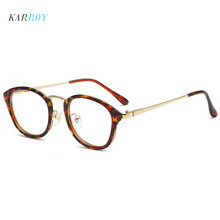 Vintage Unisex Plain Glasses Men Optical Frame Metal Myopia Eyeglasses Frame Women Full Frame Spectacles Glasses vintage unisex plain glasses men optical frame metal myopia eyeglasses frame women full frame spectacles glasses