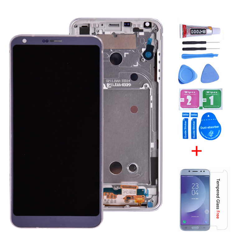 Original For LG G6 H870 LCD Display With Touch Screen Digitizer Assembly  H870DS H872 LS993 VS998 US997 LCD With Frame