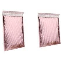 Bubble-Envelope Foil Gift Packaging-15x20 for 27PCS 4cm Rose-Gold 15x13 Waterproof