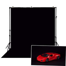 Photography Backdrop Black Background Solid Color Pure Black Screen Back Drop Game Studio Products Photoshoot Portrait At Home(China)