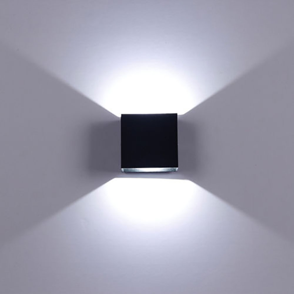 6W LED Wall Lights Simple Energy Saving Side Bedroom Living Room Hallway Staircase Porch Decorative Lights Warm White/White