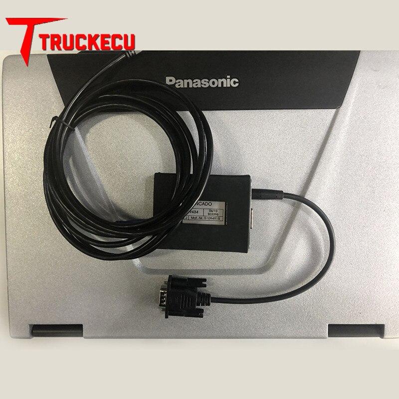 forklift diagnostic scanner Judit Incado Box Diagnostic Kit Jungheinrich JUDIT 4 with CF19 Laptop complete set