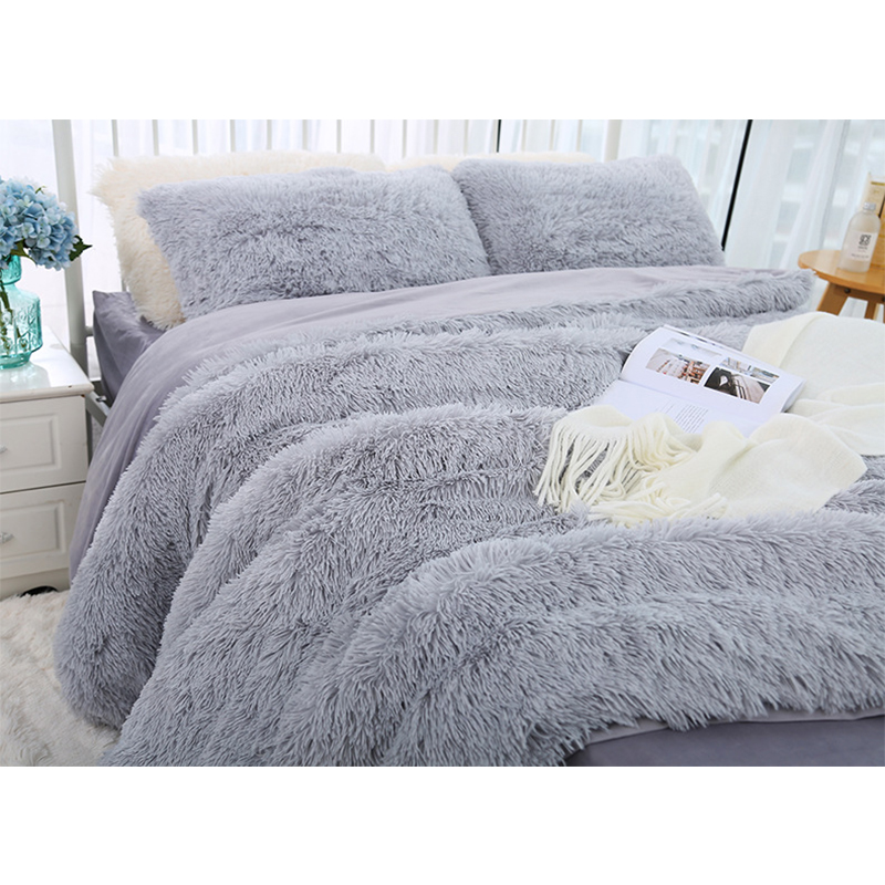 160*200 Shaggy Coral Blanket Warm Soft Blanket For Bed Sofa Bed Bedspreads Home Decoration Comfortable Bed Cover Plaid Blankets-3