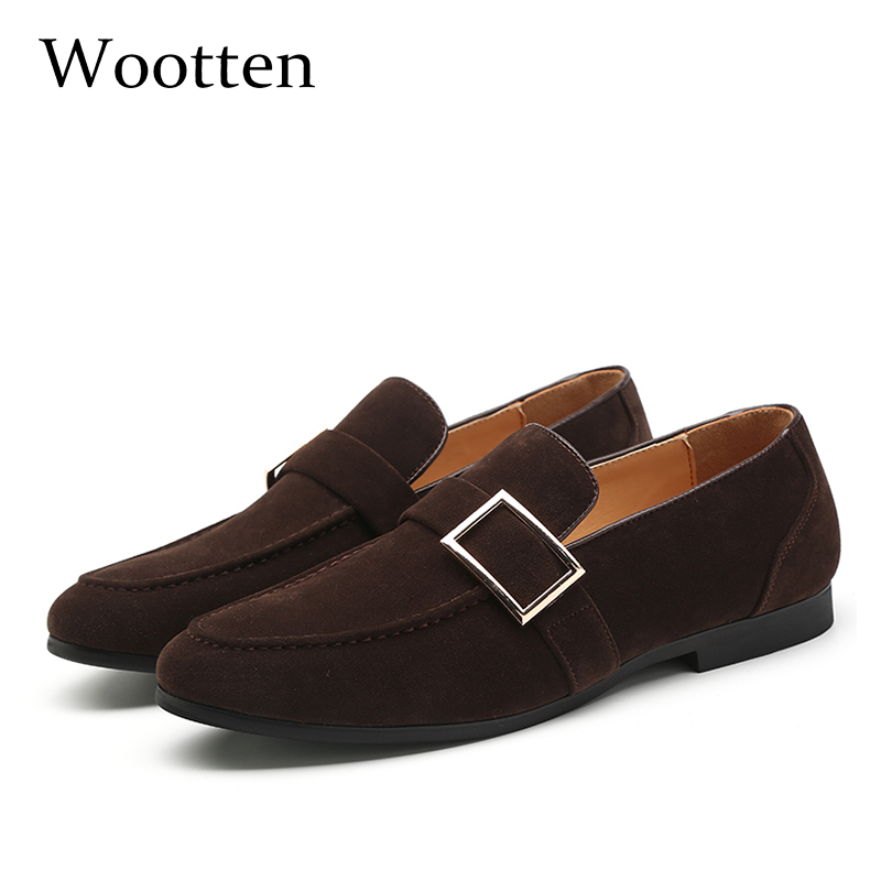37-48 Casual Shoes Men Moccasins Fashion Classic Brand Breathable Luxury Comfortable Plus Size Elegant Loafers Men #1616-1