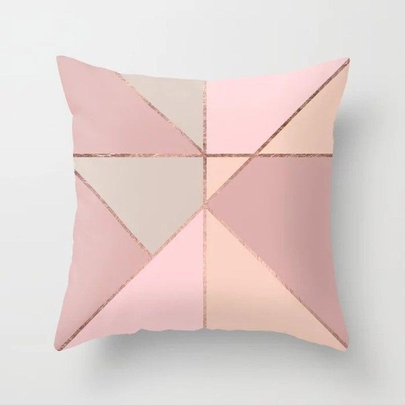 He246115c45d24f03b54b377f16655a27T New 1PC Popular Cushion Case Geometric Tropic Pineapple Nordic Sofa Pink Pillow Decorative