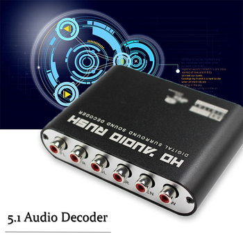 Audio Cable Adapter | High Quality Product AC3/DTS Digital Audio Decoder 5.1 Digital To Analog Audio Decoder With Optical Cable ,power Adapter