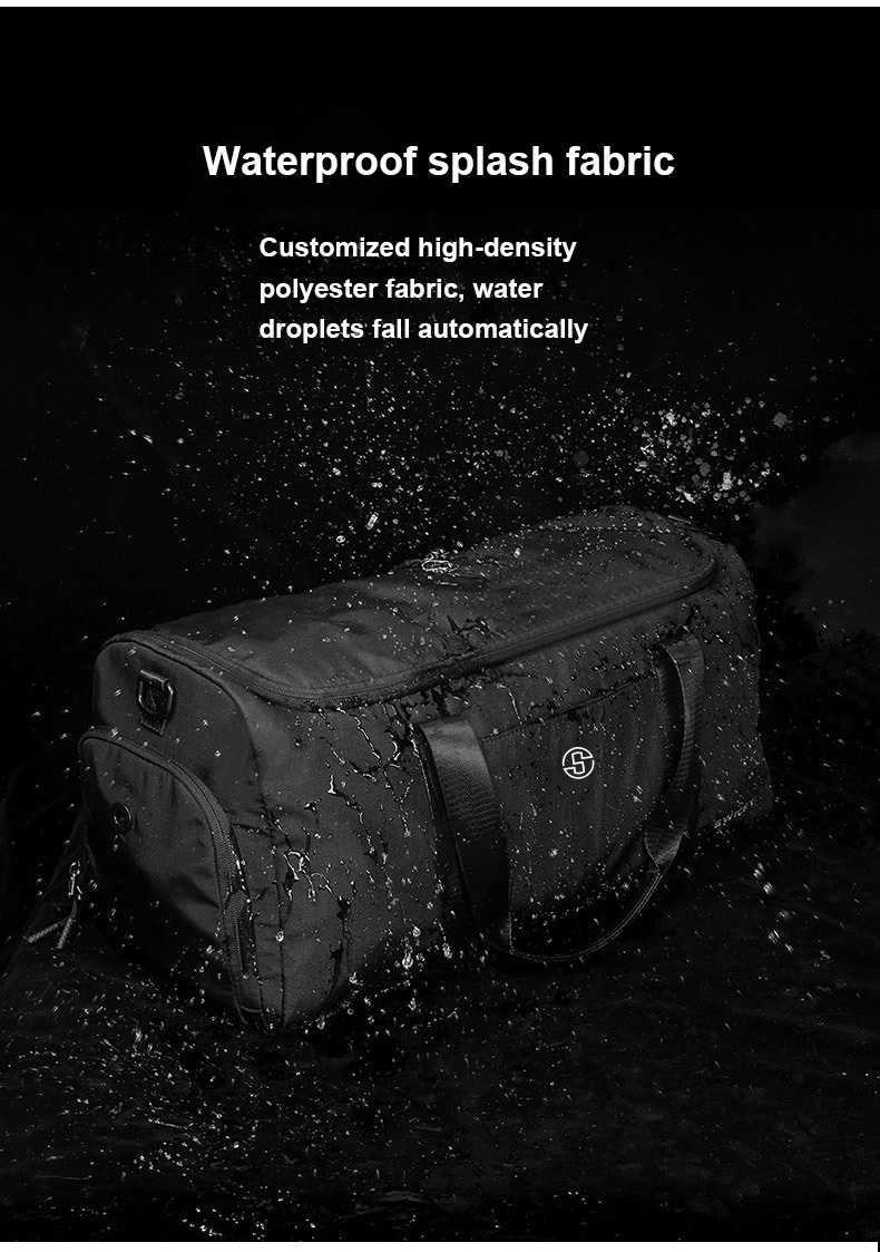 Fitness Travel yoga bag Short Distance Mountaineering Luggage Bag Diagonal Large Capacity Clothes Dry And Wet