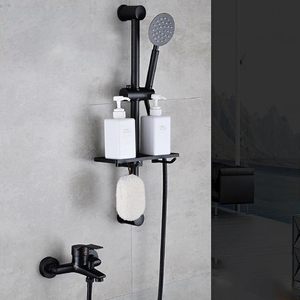 Image 4 - Wall Mounted Bathtub Faucet Waterfall Bath Faucet Brass Chrome Finish Bath Shower Mixer Hot and Cold Water Mixer  FYB011