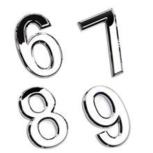 Новое поступление, табличка с цифрами на дверь, знак на дом, покрытие ворот от 0 до 9, пластиковая табличка с цифрами, наклейка на дверь для дома в отеле, дверная табличка