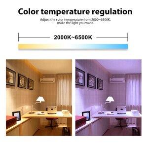 Image 5 - جلودوبتو زيجبي لمبة LED ذكية 2 حزمة اللون تغيير RGBCCT E27 E26 6 واط ضوء لمبة متوافق مع الأمازون صدى زائد اليكسا محور
