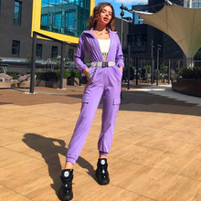 Autumn Bodycon Rompers Womens Jumpsuit One Piece Set Sexy Stand Sashes Casual Club Party Jumpsuits Overalls Streetwear Clothes