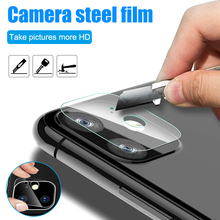 Back Camera Lens Screen Protection Tempered Glass Film for Smartphone Cell Phone FKU66