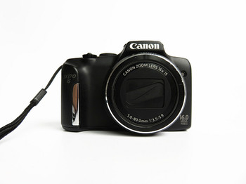 USED Canon PowerShot SX170 IS 16.0 MP Digital Camera 16x 720p HD video  Optical Image Stabilizer