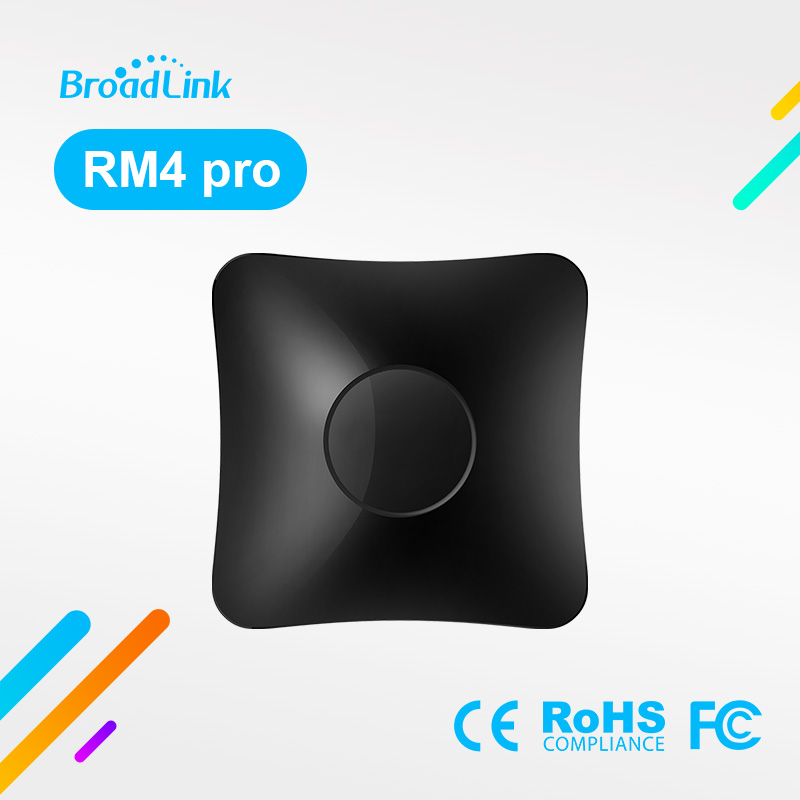 BroadLink RM4 Pro Smart Universal Remote IR  amp  RF Transmitter for Air-con TV Switch etc  support Alexa and Google Home