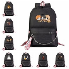Рюкзак для ноутбука Harries USB Potter, канцелярская школьная сумка, рюкзак с защитой от кражи, рюкзак для путешествий, рюкзак для отдыха Mochila