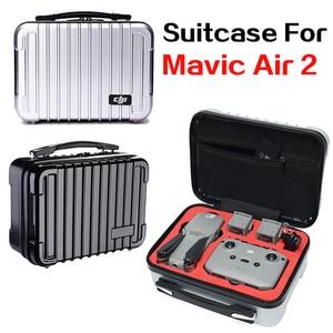 Image 1 - DJI Mavic Air 2 Drone Hard Shell Portable Travel Bag Carrying Case Parts Accessories Waterproof Storage Bag Large Capacity