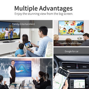 Image 5 - GGMM TV Stick Android WiFi Wireless Mini USB HDMI Dongle AirPlay Display Per IOS Dual Band 5GHz + 2.4GHz YouTube Dongle Ricevitore