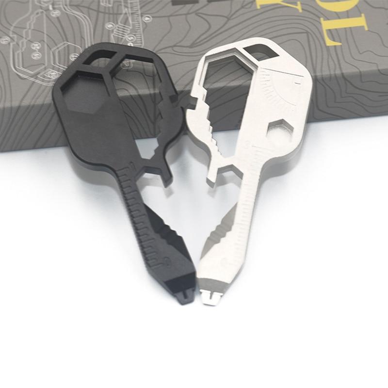 24 в 1 для повседневного использования, набор мини-многофункциональная отвертка ключ Форма щелевые брелок с отвертками открывалка для бутыл...