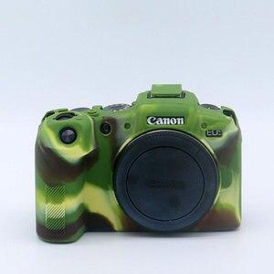 Image 4 - סיליקון שריון עור מקרה מצלמה גוף כיסוי מגן עבור Canon EOS R6 R5 RP R דיגיטלי מצלמות