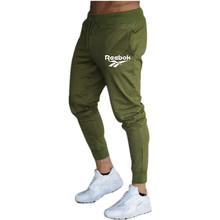2021   New jogger brand, cotton slacks, fitness sports, pencil pants, men's soft fitness running, fitness pants, running l  eggi