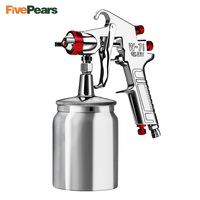FivePears W71/W77 Professional Air Paint Spray 1.3/1.5/1.8/2.0/2.5/3.0mm Paint Sprayer Car Furniture Painting Spraying Tool