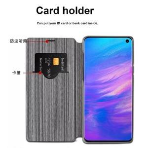 Image 4 - Чехол для Samsung Galaxy S10, роскошный тканевый чехол для Samsung S10 plus, чехол с откидной крышкой для Samsung Galaxy S10e, чехол
