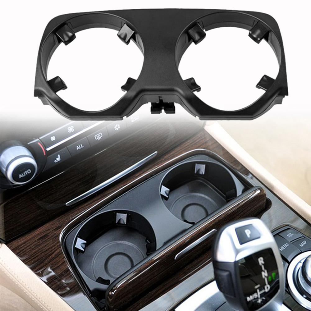 NEW GENUINE BMW 7 SERIES F01 F02 F04 CUP DRINK HOLDER OUTER COVER BLACK 9179820