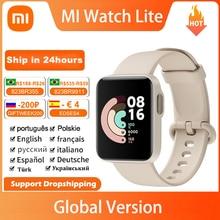Global Version Xiaomi Mi Watch Lite GPS Fitness Tracker Heart Rate Monitor Smart Sport Bracelet 1.4inch Bluetooth Smart Watch