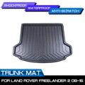 Автомобильный коврик для багажника  водонепроницаемые коврики  ковер  анти грязевой поднос  грузовой вкладыш для Land Rover freelander 2 2006-2015