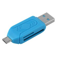 Dual Purpose OTG Card Reader Multifunctional Two-in-one Wide Compatibility Convenient Mobile Phone Card Reader
