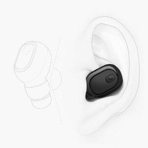 Image 2 - M & J Mini Zakelijke Draadloze Bluetooth Headset Portable Handsfree Oordopjes Sport Drive Oortelefoon Met Microfoon Voor Xiaomi Iphone