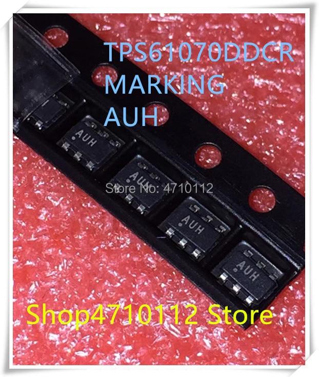 NEW 10PCS/LOT TPS61070DDCR TPS61070 MARKING AUH SOT23-6 IC