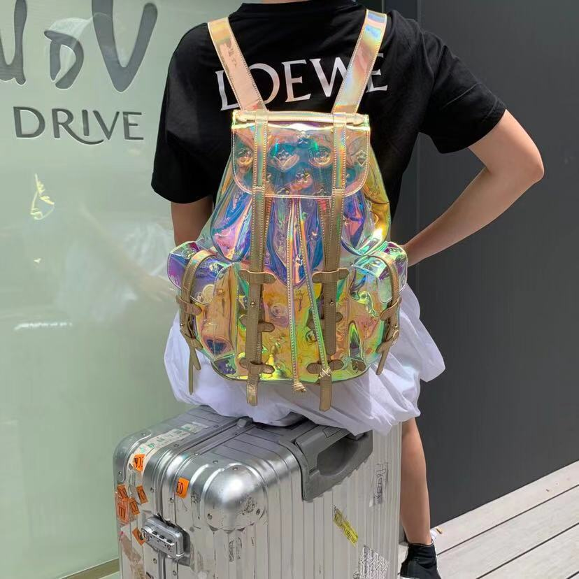 2020 Summer Luxury Symphony Laser Large Backpack