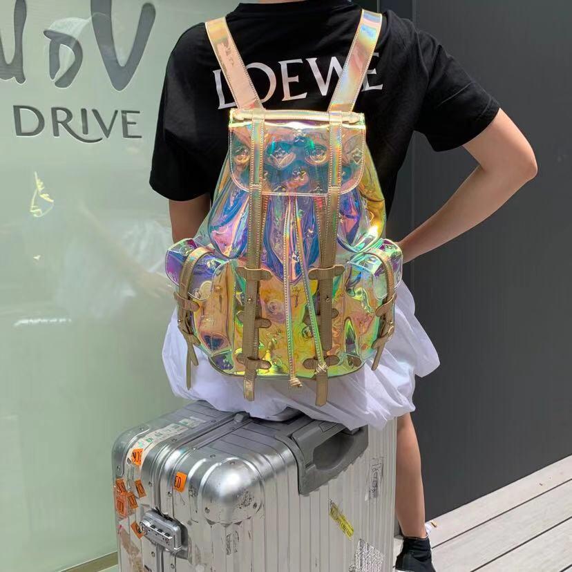 2020 Summer Luxury Symphony Laser Large Backpack