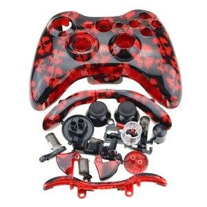 Image 5 - Cltgxdd Kablosuz Oyun Denetleyicisi sert çanta Gamepad Koruyucu Kabuk Kapak Ile Tam Set Düğme Analog Sopa Tamponlar XBox 360