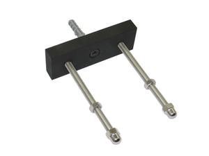Image 2 - 6/PK Skateboard Floating Deck Display Wall Mount Rack Holder Hanger Fit Home Storage Display
