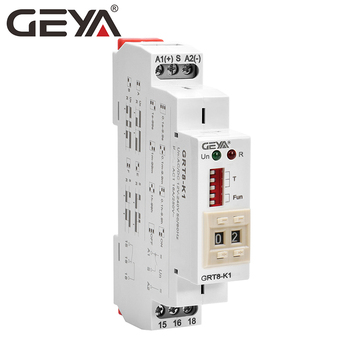NEW ARRIVAL GEYA GRT8-K Digital Setting Timer Relay AC DC 12V 24V 220V 230V Multifunction Time Delay on off Relay tex multifunction time relay re17rcmu re17 ramu