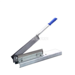 Manual Frozen Meat Bone Saw Cutting Chopping Cutter Machine Chicken Leg Cutter Fish Ribs Bone Ribbonfish Guillotine Cut Machine