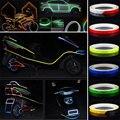 Светоотражающие ленты  предупреждающие надписи  модный ободок  светящийся автомобильный Стайлинг  800 см  ПВХ  забавные светоотражающие накл...