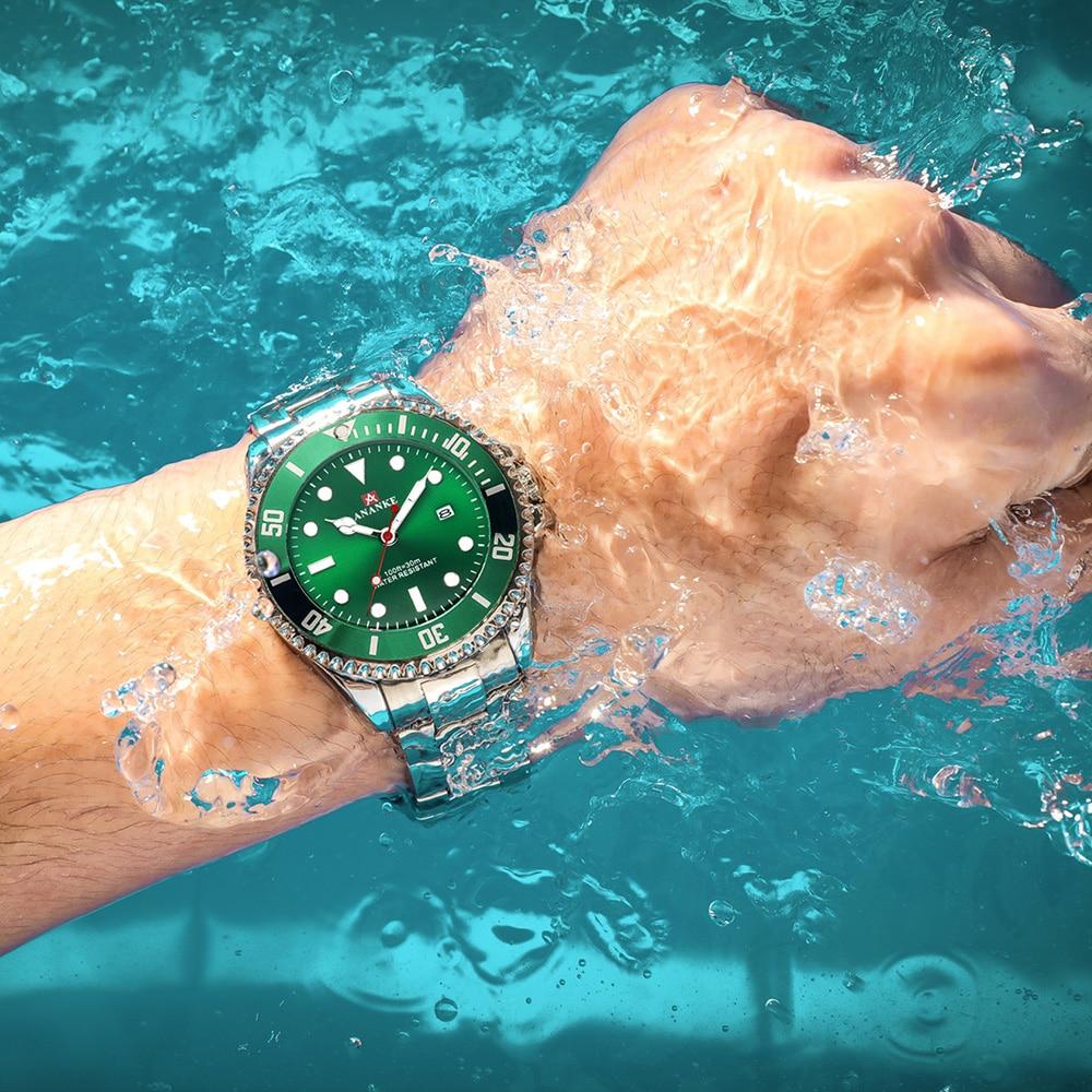 Rolexable Men Watch 2020 Top Brand Luxury 50m Waterproof Date Clock Male Sports Watches Men Quartz Wrist Watch Relogio Masculino