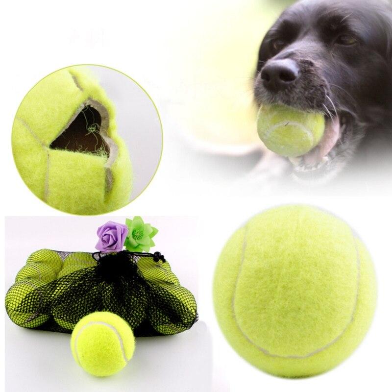 1/шт теннисная игрушка для собаки мяч Жевательная погремушка