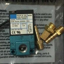 Высококачественный сменный электромагнитный клапан 12 В для MAC с 3 портами 35A-AAA-DDBA-1BA 5,4 Вт с латунными комплектами