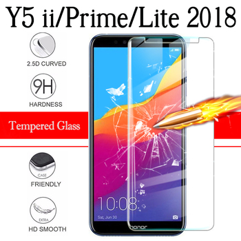 For Huawei Y5 Prime 2018 Protective Glass On Y5 Lite 2018 Y5 5Y ii 2017 Screen Protector Cover hwawei y5 2019 Tremp Glasses 9h image