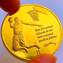 Kobe Bean Bryant Coins Collectibles Gold Plated Metal Coin Challenge Coin Home Decor for Collection Gift Free Shipping single custom coins low price us army challenge coin metal milirary coins hot sale american coin fh810251