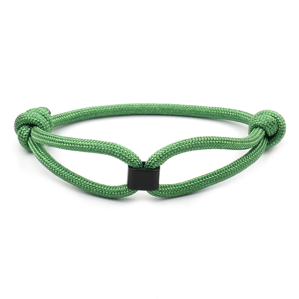 HOMOD Fashion Bracelet Jewelry Fashion Concentric Bracelet Couples Nylon Rope Chain Paracord Bracelet Male Wrist Bands in Charm Bracelets from Jewelry Accessories
